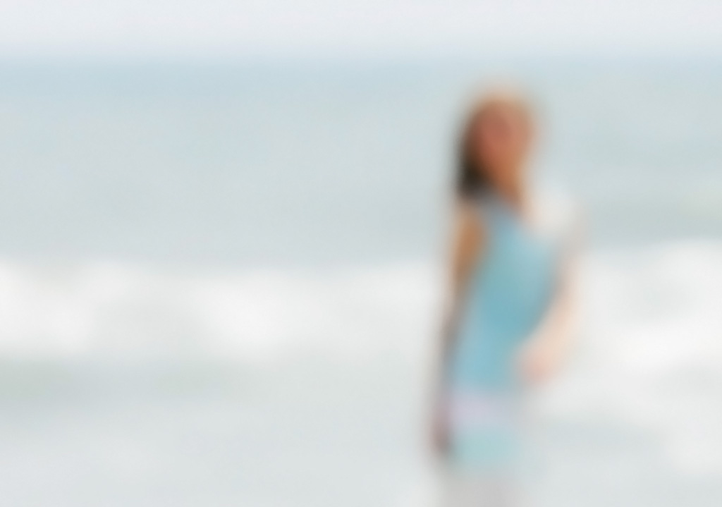 Girl on Beach - Hollander Maui Photography